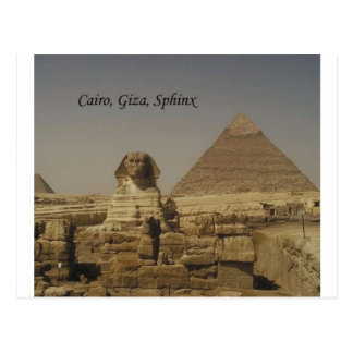 El Cairo, Giza, la esfinge (St.K.) Postales