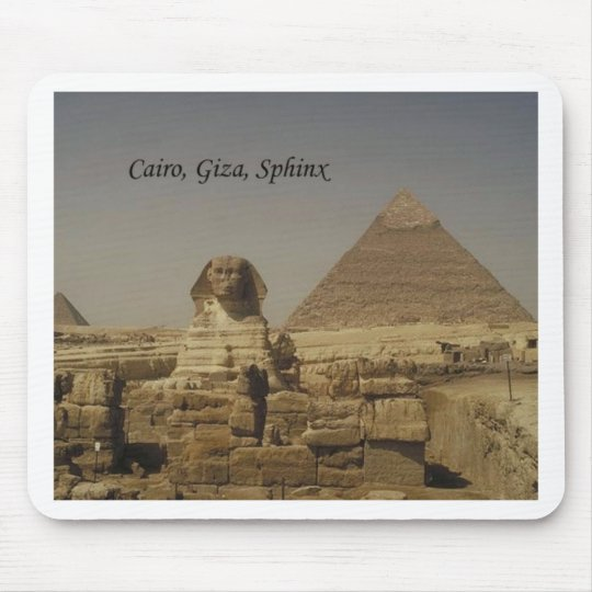 El Cairo, Giza, la esfinge (St.K.) Tapetes De Raton