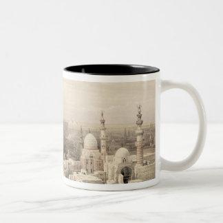 """El Cairo que parece del oeste, de """"Egipto y de Taza De Dos Tonos"""