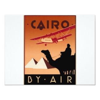 """El Cairo (St.K) Invitación 4.25"""" X 5.5"""""""