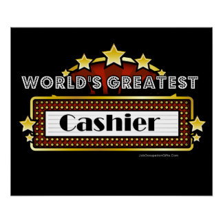 El cajero más grande del mundo póster