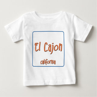 El Cajon California BlueBox Baby T-Shirt