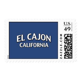 EL Cajon California Sello