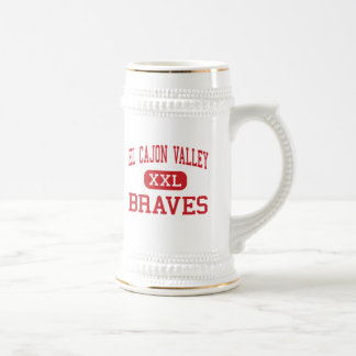El Cajon Valley - Braves - High - El Cajon Beer Stein