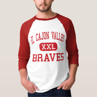 El Cajon Valley - Braves - High - El Cajon T-Shirt