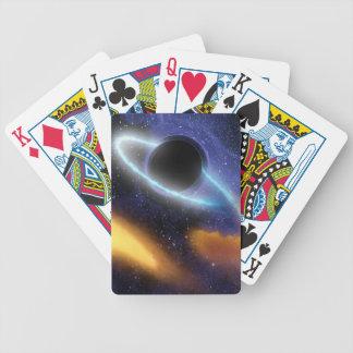 El calabozo de NASAs ase el bocado estrellado Baraja Cartas De Poker