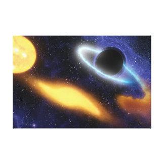 El calabozo de NASAs ase el bocado estrellado Impresiones En Lona