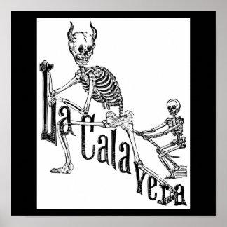El Calavera infernal. El día de los muertos Póster