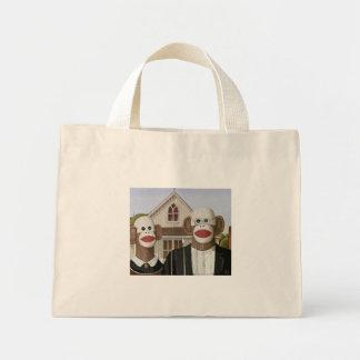 El calcetín gótico americano Monkeys el bolso Bolsa Lienzo