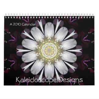 El caleidoscopio 2010 diseña el calendario