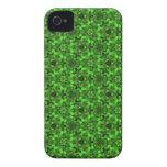El caleidoscopio soña iPhone brillante de los verd iPhone 4 Case-Mate Cobertura