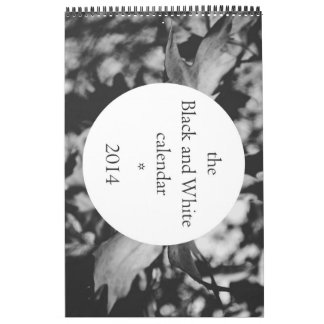 el Calendar*2104 blanco y negro Calendario