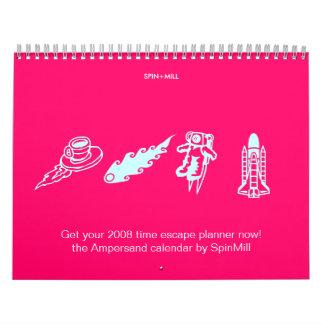 """El calendario 2008 del signo """"&"""""""