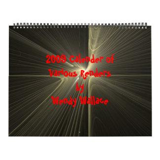 El calendario 2009 ofVarious rinde…