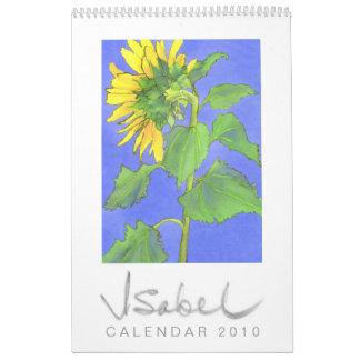 El calendario 2010 2 de Isabel