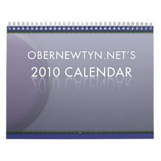 ¡El calendario 2010 de Obernet!