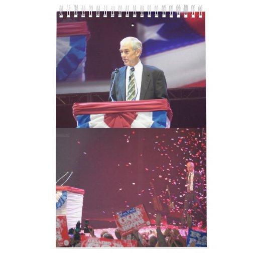 El calendario 2012 de Ron Paul
