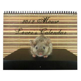 El calendario 2012 del amante del ratón