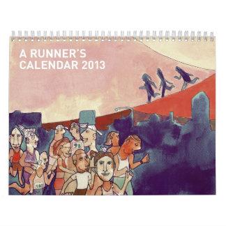 El calendario 2013 de un corredor