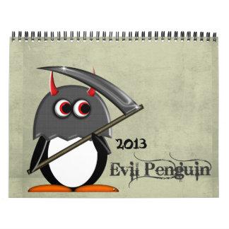 El CALENDARIO 2013 del dibujo animado del MAL PENG