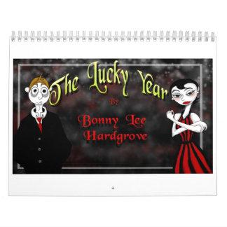 El calendario afortunado del año