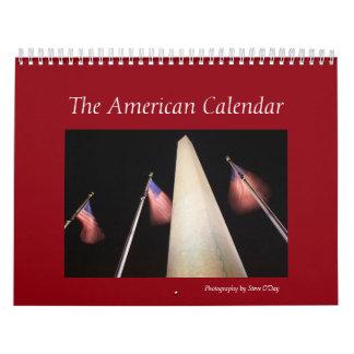 El calendario americano de la foto