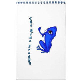 El calendario azul del Froggy