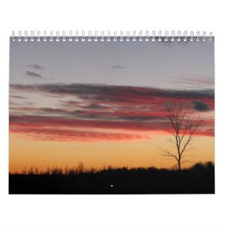 El calendario cosido valle