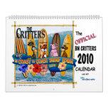 El calendario de 2010 Critters de los BN