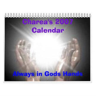 El calendario de Charea 2007