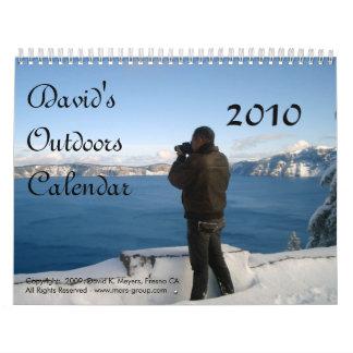 El calendario de David 2010