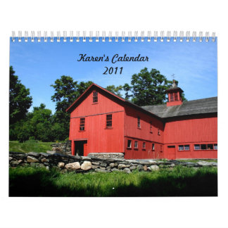 ¡El calendario de Karen!  2011