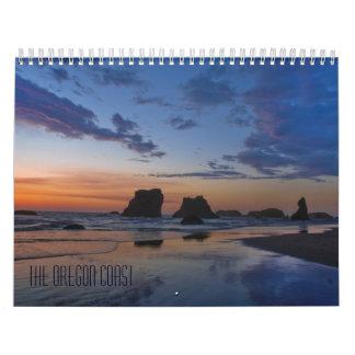El calendario de la escuela de la costa de Oregon