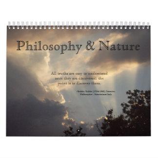 El calendario de la filosofía y de la naturaleza
