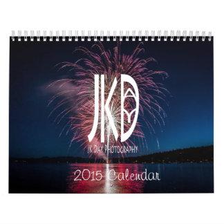 El calendario de la fotografía 2015 del día de JK