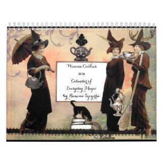 El calendario de la galleta 2016 de Winona de la