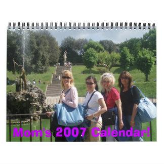 ¡El calendario de la mamá 2007!