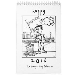 El calendario de la narración
