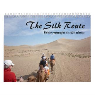 El calendario de la ruta de seda 2011