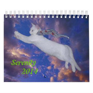 El calendario de la serenidad 2014