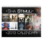 El calendario de la serie 2013 de la cinta del alq