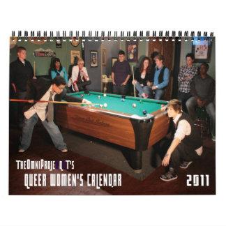 el calendario de las mujeres raras del t 2011 del