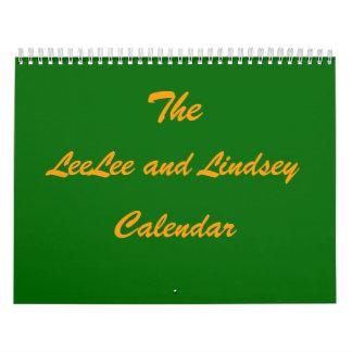 El calendario de LeeLee y de Lindsey