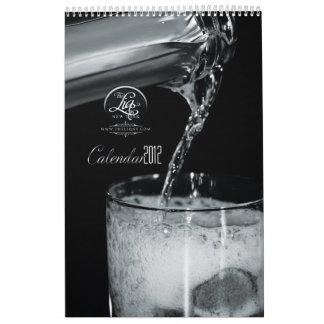 El calendario de LIQ Nueva York 2012
