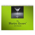 El calendario de los amantes 2010 de Martini