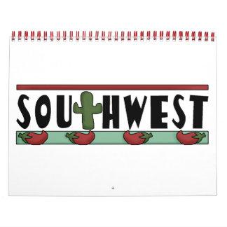 El calendario de los niños coloridos del sudoeste