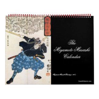 El calendario de Miyamoto Musashi