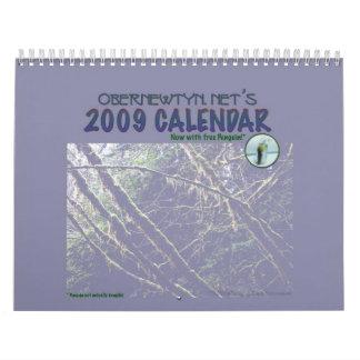 ¡El calendario de Obernet 2009!