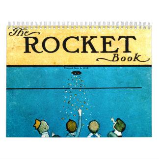 El calendario de Rocket del niño del libro