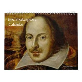 El calendario de Shakespeare